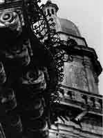 Balcone e cupola della Chiesa  dell'Idria a Ragusa Ibla  - Ragusa (2101 clic)