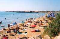 Spiaggia libera nei pressi di Lido Arenella  - Arenella (38264 clic)