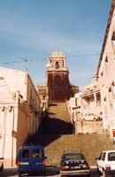 chiesa di s.antonio abate con scalinata  - Buccheri (5471 clic)