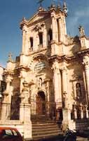 basilica di s.maria maddalena (facciata)  - Buccheri (4428 clic)