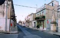 obelisco (monumento nazionale) costruito dopo il terremto del 1693  - Cassaro (5291 clic)