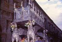 Festa di San Corrado - urna d'argento contenenti le spoglie del santo  - Noto (4739 clic)