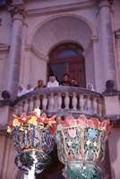 Festa di San Corrado - balcone del seminario vescovile  - Noto (4372 clic)