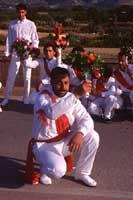 Festa di San Sebastiano - Particolare momento della Corsa detta dei Nuri.  - Avola (5800 clic)