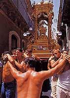 Festa di San Sebastiano: a Raricula  - Palazzolo acreide (7118 clic)