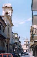 CHIESA DI S.ANNA, VIA ROMA  E CHIESA MADRE  - Floridia (7713 clic)