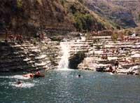 Cava Grande - laghetti di Avola  - Cava grande del cassibile (31954 clic)