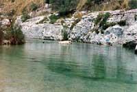 Cava Grande - laghetti di Avola  - Cava grande del cassibile (15555 clic)