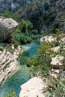 Cava Grande - laghetti di Avola  - Cava grande del cassibile (18616 clic)