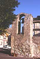 resti della chiesa della campana  - Lentini (2515 clic)