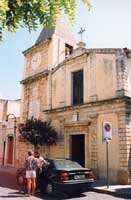 Chiesa Dell'Angelo Custode in Piazza Quattro Canti   - Priolo gargallo (7760 clic)