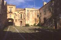Cortile Palazzo Nicolaci  - Noto (5597 clic)