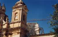 Cupola cattedrale di Noto  - Noto (3712 clic)