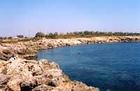 La costa di Ognina - Siracusa  - Siracusa (4599 clic)