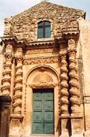 Portale Chiesa dell'Annunziaata  - Palazzolo acreide (2599 clic)