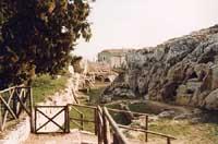 Particolare della città Akrai  - Palazzolo acreide (2180 clic)