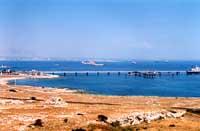 Pontile ISAB - Targia - L'attracco per le navi petroliere  - Priolo gargallo (12878 clic)