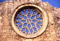 San Giovanni alle Catacombe - rosone  - Siracusa (5546 clic)