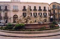 Fontana di Diana  - Siracusa (2624 clic)