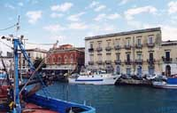 Riva della Darsena  - Siracusa (3100 clic)