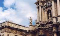 particolare del Duomo: S. Marziano  - Siracusa (3176 clic)