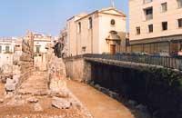 Tempio di Apollo  - Siracusa (2070 clic)