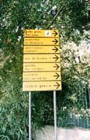 cartelli segnaletici al Teatro Greco  - Siracusa (2504 clic)