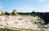 Teatro Greco  - Siracusa (2071 clic)