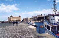 Porto piccolo e p.zza delle Poste  - Siracusa (6647 clic)