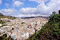 panorama dalla chiesa madre  - Calatafimi segesta (6034 clic)