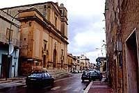 Centro del paese - CHIESA MADRE S.MARIA AL PRESEPE - Via Garibaldi  - Campobello di mazara (9195 clic)