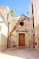 Chiesa della Madonna di l'Agnuni(La Madonna dell'Angolo)    - Castellammare del golfo (4337 clic)