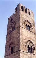 Torre Campanaria adiacente la Chiesa Madre  - Erice (3097 clic)