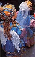 Processione del giovedi santo. Bambini vestiti da angeli  - Marsala (12130 clic)