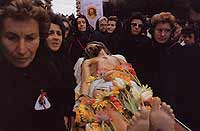 Processione del giovedi santo, Cristo morto.  - Marsala (11245 clic)