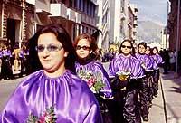 Venerdì Santo: processione dei Misteri - Processione della Separazione ceto degli orefici  - Trapani (6809 clic)