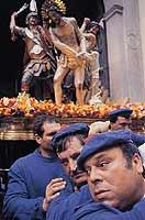 La processione dei misteri  - Trapani (2800 clic)