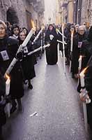 La processione dei misteri  - Trapani (2650 clic)