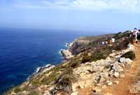 Isole Egadi - La costa di Levanzo  - Levanzo (2549 clic)