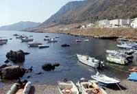 Isole Egadi - spiaggetta del Porto  - Marettimo (13047 clic)