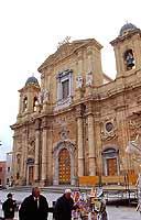 Piazza della Repubblica: La Cattedrale dedicata a San Tommaso di Canterbury  - Marsala (2962 clic)