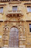 Particolare dell'ex convento  - Mazara del vallo (2085 clic)