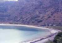 Scorcio del lago Specchio  di  Venere  - Pantelleria (2520 clic)