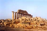 Tempio C o di Apollo. Era il Dio della Salute e della medicina  - Selinunte (3945 clic)