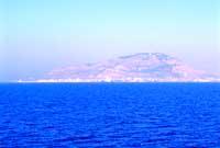 Panorama dal mare delle Egadi - Vista del monte Erice  - Trapani (7240 clic)